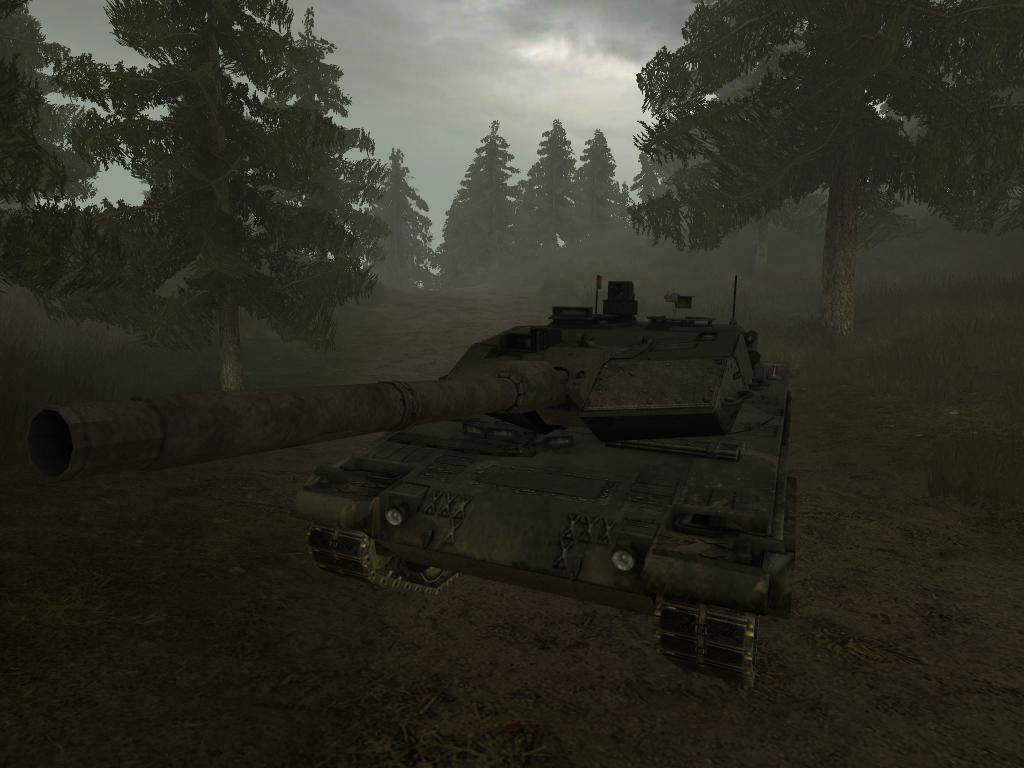 Leopard 2A6 (Woodland)