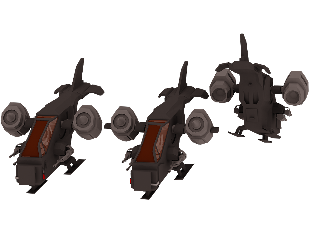 Martian Marines Medium Attack Craft