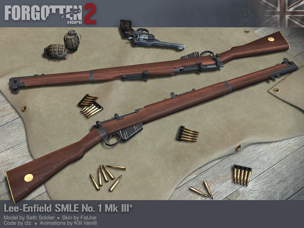 Lee Enfield SMLE No1 Mk III.