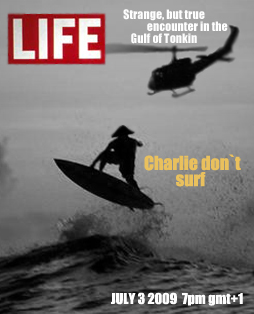 Charlie do not surf
