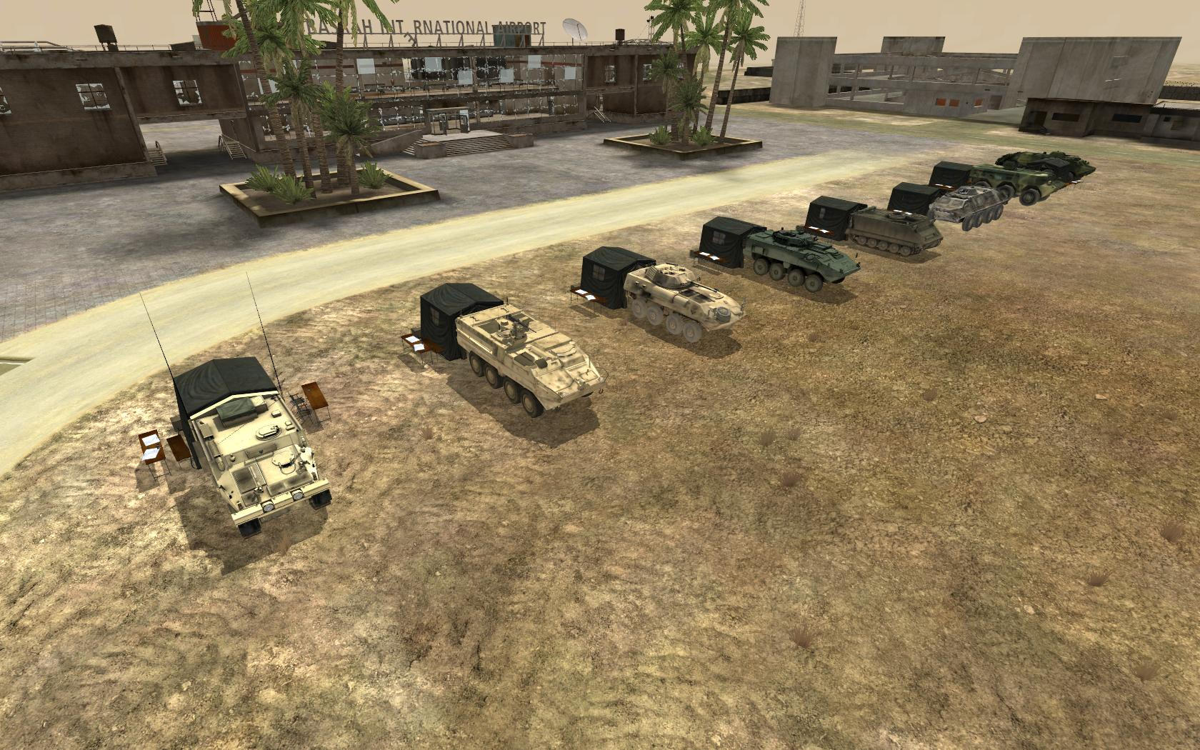 Armored Command Vehicles