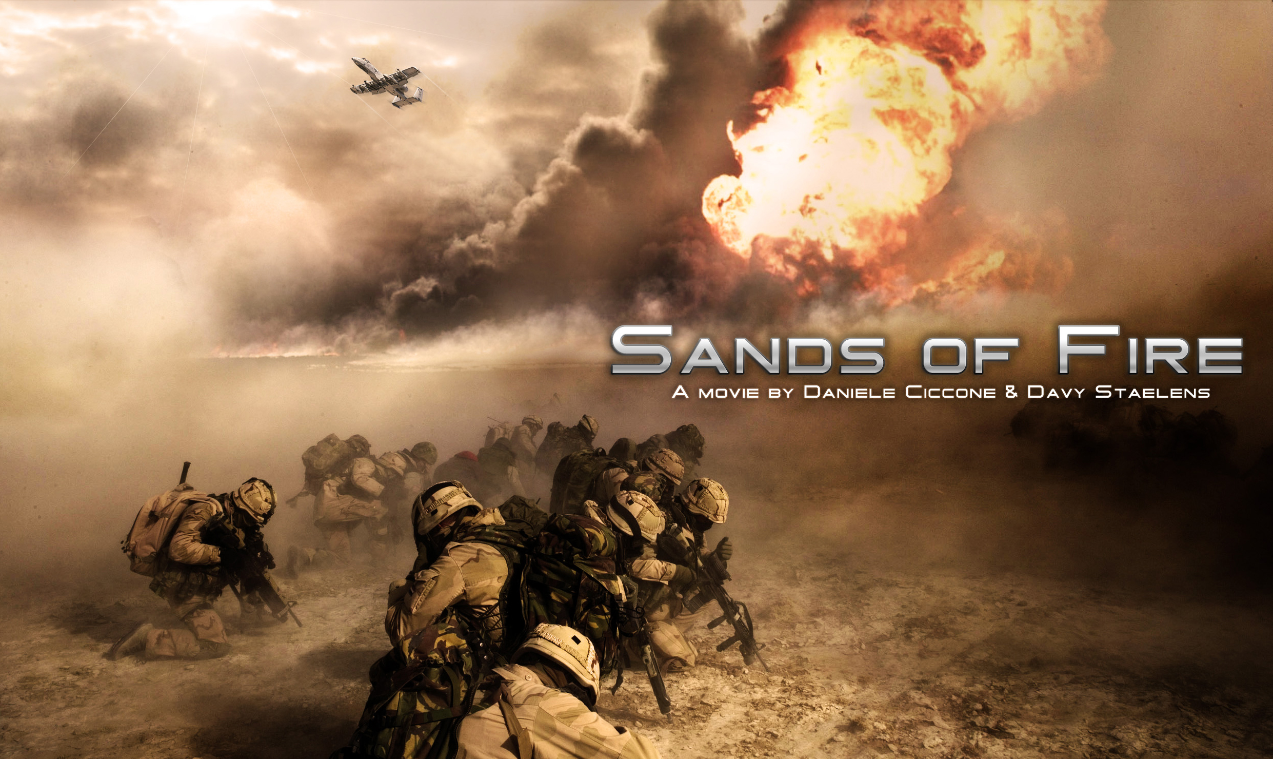 Sand of Fire Wallpaper