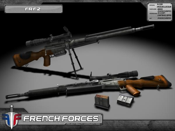 French Forces: FR F2