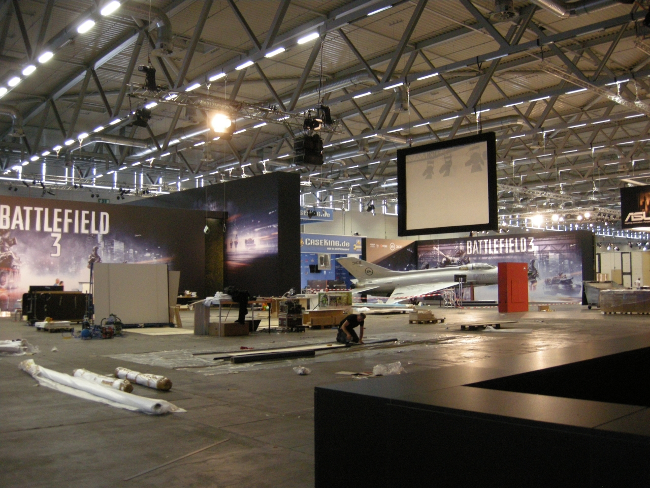 Gamescom 2011: EA-Messestand