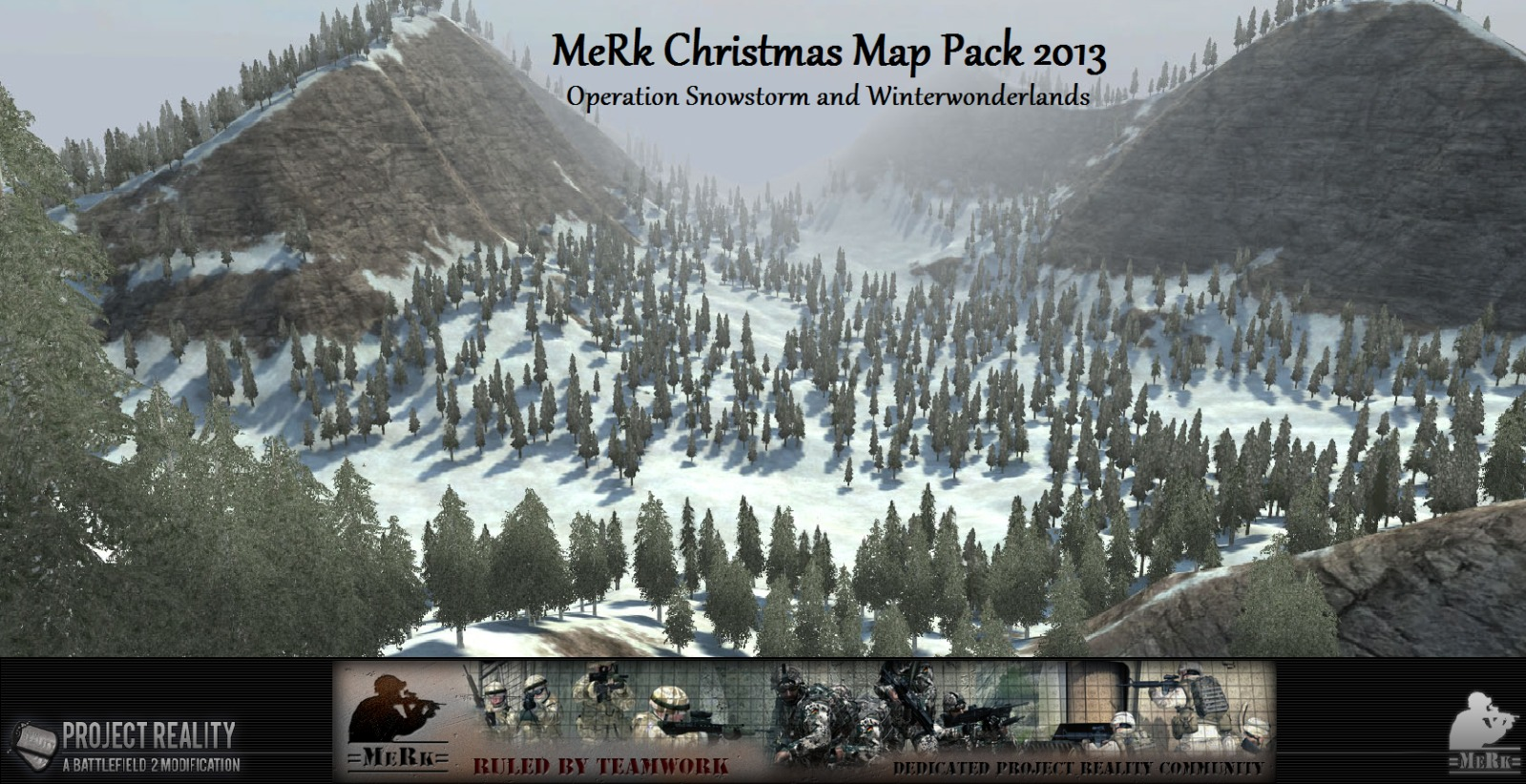 MeRk Christmas Map pack 2013