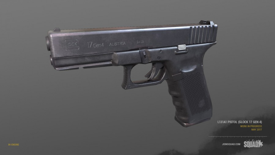 Glock 17 (4. Generation) Render